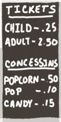 Ticket-prices